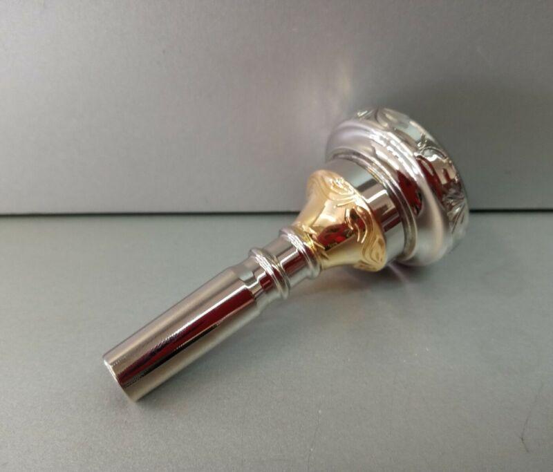 #1 Alto Horn Engraved Mouthpiece M&H Double Cup  Boquilla Armonia O Saxor #1