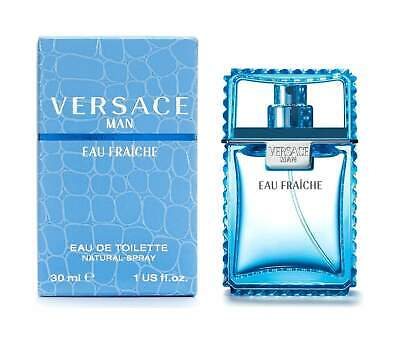 Genuine Sealed Versace Man Eau Fraiche Eau de Toilette 30ml