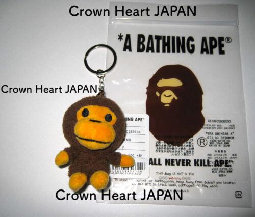 New A BATHING APE Kids BABY MILO MASCOT MIN-PLUSH KEYCHAIN ~ BAPE Japan