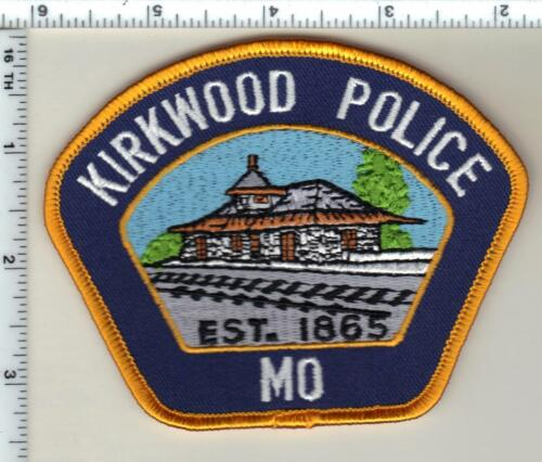 Kirkwood Police (Missouri)  new style Shoulder Patch  from 1997