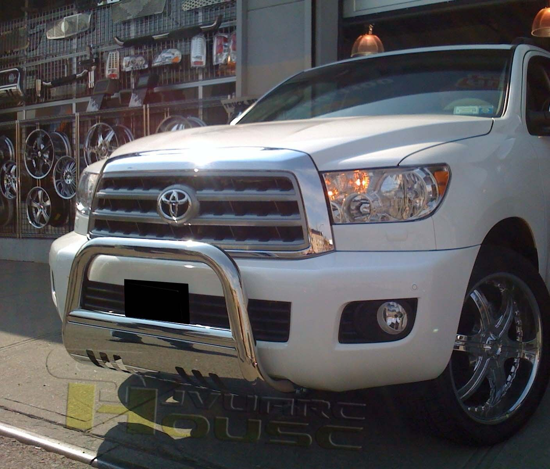 Toyota Sequoia: Broadfeet Bull Bar Front Bumper Guard 08-16 Toyota Sequoia