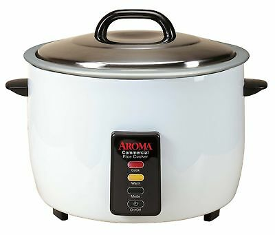 Restaurant Rice Cooker Commercial Kitchen Warmer Electric Pot 60 Cup Cooked Mode