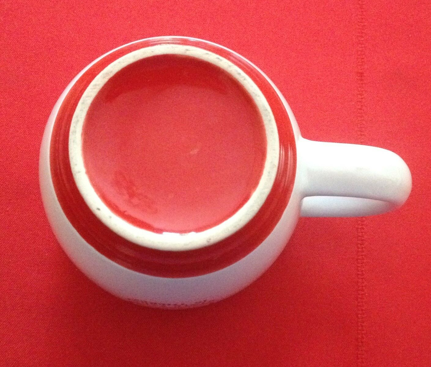 State Farm Insurance red/white like a good neighbor state farm is there cup mug