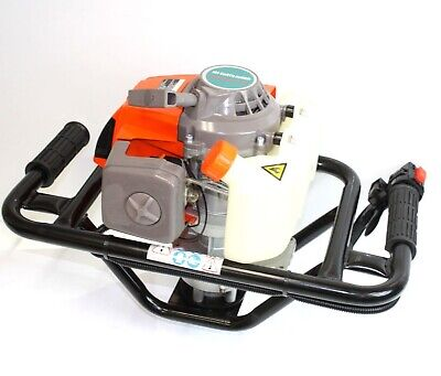 Epa 63cc Auger Post Hole Digger Gas 2.5hp Single Person Machine Fence Pot Hole