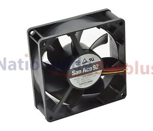 New Sanyo Denki San Ace 92 48V .12A DC  92mm x 32mm Cooling Fan 9G0948S2H03