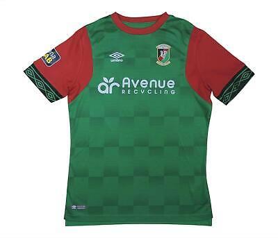 Glentoran 2018-19 Original Home Shirt (Excellent) XL Boys Soccer Jersey image