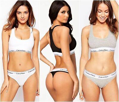 Calvin Klein Women Underwear Bralette & Thong Sets-100% Genuine-CLEARANCE