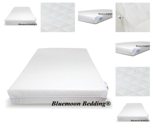 """NEW SUPERIOR HIGH DENSITY FOAM MATTRESS 4"""" - 100/50/10cm FOR SPACE SAVER COT"""