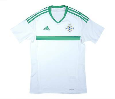 Northern Ireland 2016-17 Authentic Away Shirt (Excellent) S Soccer Jersey image