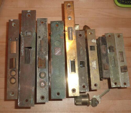 Antique Mortise Lockset Lot of 10