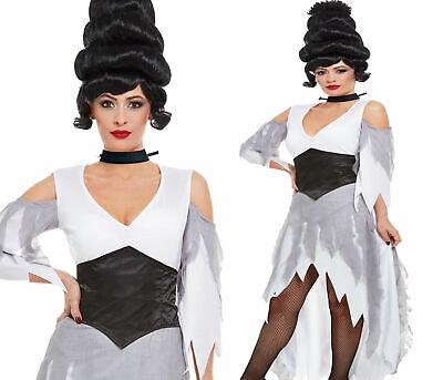 Damen Corpse Bride Kostüm Halloween Kostüm Gothic Erwachsene - Damen Corpse Bride Halloween Kostüm