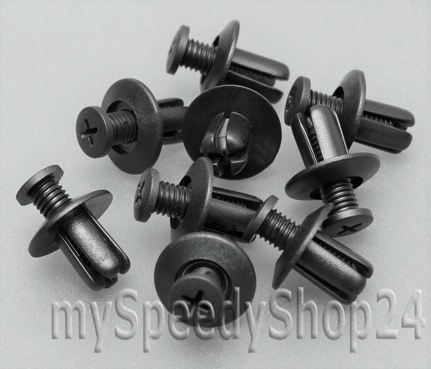 20 x Spreiznieten Clips Stoßstange Radlauf Hyundai Accent I B092-51-833 II