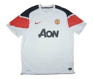 Manchester-United-2010-11-Camisa-autentica-de-distancia-excelente-Camisa-De-Futebol-Xl