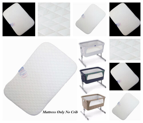 Deluxe Crib Mattress for Chicco Next 2 Me  Bedside Crib Next2Me 83x50x5 cm Thick