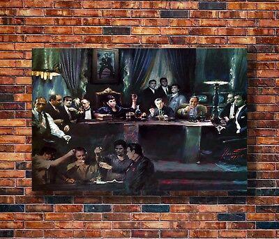T1957 20x30 24x36 Silk Poster Al Pacino Scarface Classic Movie Vintage Art Print