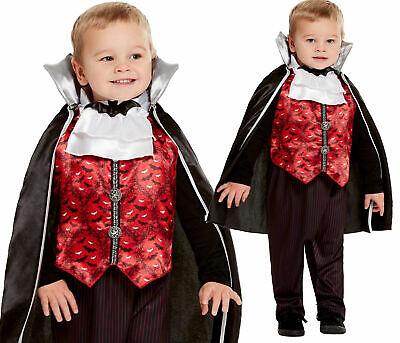 Kleinkinder Lil Dracula Kostüm Vampir Babys Halloween Horror Kostüm Alter 1-4