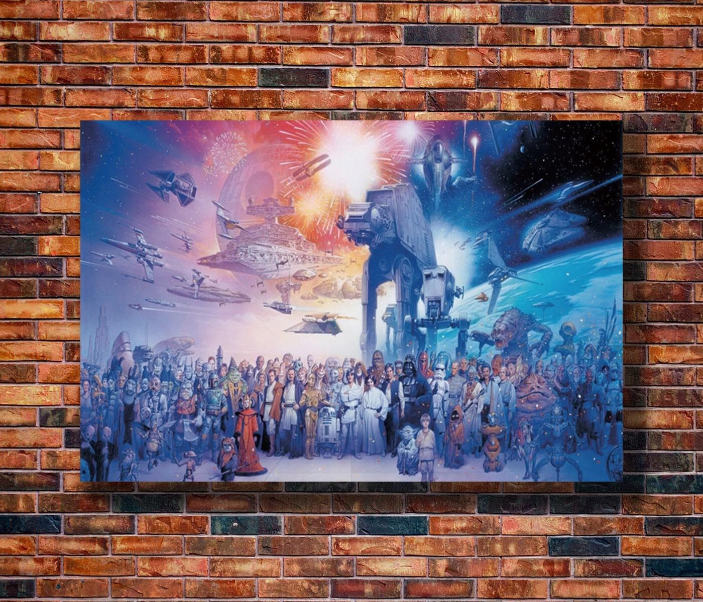 Art Star Wars Darth Vader Hot Classic Movie -20x30 24x36in Poster Hot Gift C2659