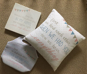 Baby Gifts! Cushion, Canvas & Insulated Bottle Carrier Tamworth Tamworth City Preview