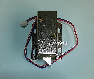 Electric Cabinet Door Lock Drawer Deadbolt Locksmith Dc12v 1pcs