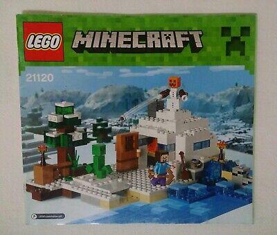 LEGO MINECRAFT ENDERMAN WITH SNOW BLOCK BRAND NEW /& RARE
