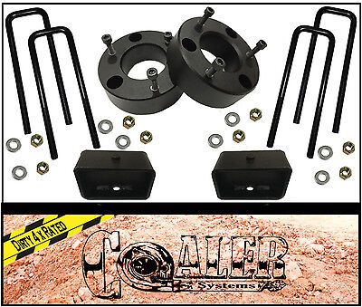 """Chevy Silverado 3"""" Front and 2"""" Rear lift kit for 2007-2018 GMC Sierra Leveling"""
