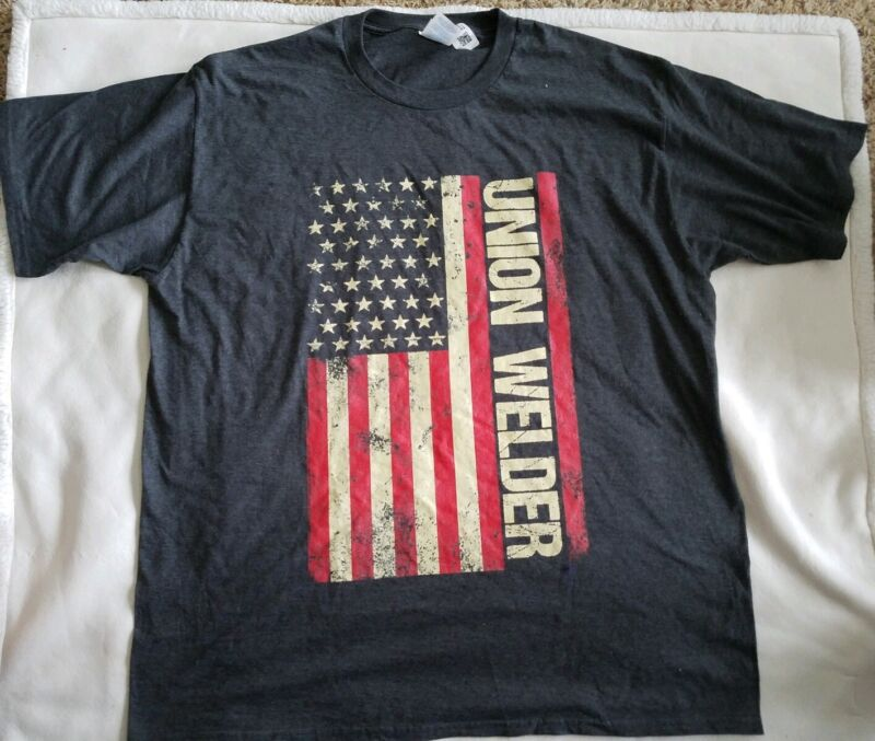Union Welder Tee T-Shirt XL New