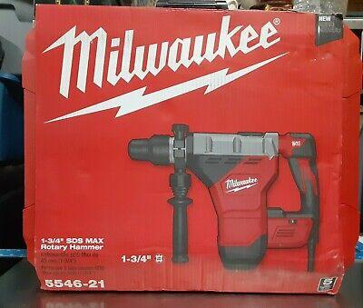 1 34 Sds Max Milwaukee 5546-21 Rotary Hammer