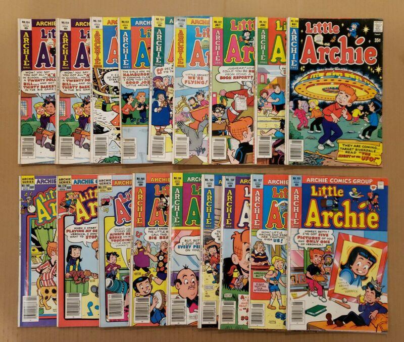 Little Archie #130-180 Lot of 18 Bronze comics Sabrina FN/VF avg