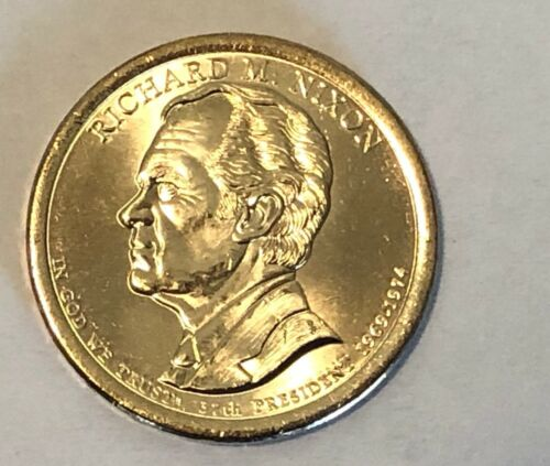 2016 RICHARD M. NIXON  PRESIDENTIAL DOLLAR COIN UNCIRCULATED