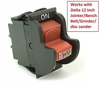 Table Saw And Drill Press On-off Toggle Switch 2 Prong Fit Yours Read Photo