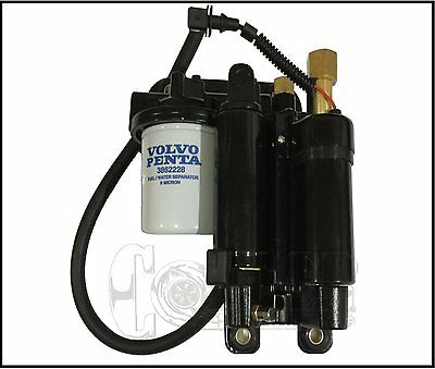 For Volvo Penta Electric Fuel Pump Assembly 21608511 21545138 5.7 5.0 4.0 Marine