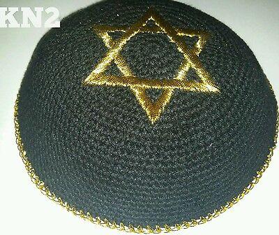 Kippah Kippot Kipa Jewish Judaica Handmade Star of David kippah Yarmulke Yamaka)