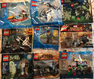 Lego lord of the Rings Monsters Super Heros City Hobbit