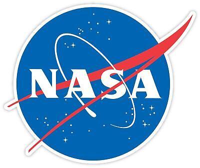 NASA Logo Space Vinyl Sticker Decal SIZES Car Laptop Mug Wall (Logo Plastic Mugs)