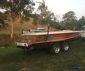 Ramsay Puma ski boat Poowong South Gippsland Preview