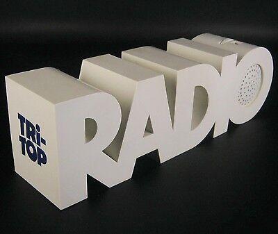 Designer Radio 60er 70er Jahre Design Vintage Retro Tri-Top Modernist
