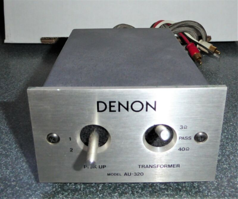DENON MODEL AU 320 PICK UP MADE IN JAPAN