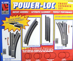 HO SCALE MODEL RAILROAD TRAINS LALYOUT LIFE-LIKE POWER LOC TRACK EXPANDER PKG