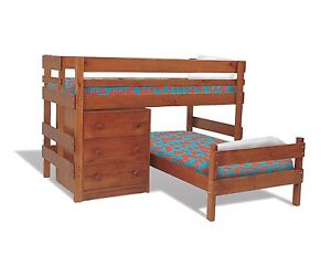 Bunkers Lo-line corner bunk beds & chest of drawers Warrandyte Manningham Area Preview