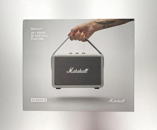Marshall Kilburn II Portable Bluetooth Speaker Gray