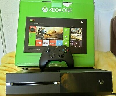 Microsoft Xbox One 500GB Console - Black w/ Controller, Power Cord