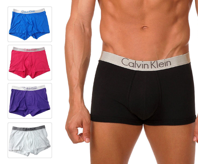 111072d59aaf Calvin Klein Men s Boxer Trunk U5821 Cotton Low Rise CK Underwear ...