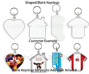 Blank-SHAPED-Photo-Keyrings-1-5-10-20-25-Football-Heart-Van-House