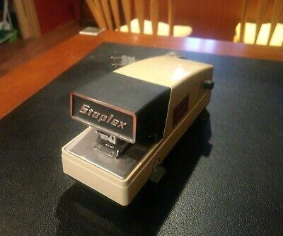 Vintage Staplex Type Vf Electric Stapler High Speed Stapler Vtg