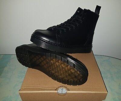 Dr.Martens Talib 8-Eyelet Brando Black Mens Boots uk 4 eu 37