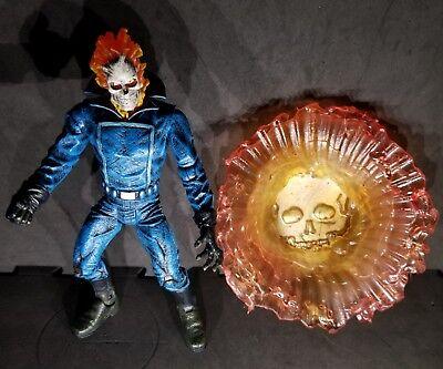 Ghost Rider marvel select figure & custom penance stare energy effect legends