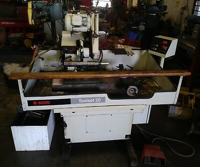Scm Toolset 20 Sharpener Tool Cutter Copy Grinder Machine