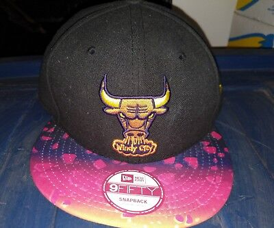 Chicago Bulls New Era Windy City Meteor Concept Snapback Hat Cap NBA Hardwood