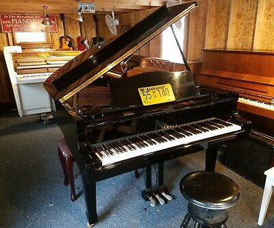 YAMAHA C3 GRAND PIANO 6' 1/ PLAYED BY BIG CELEBS FREE DELIVERY E USA. GO FOR IT! for sale  East Hampton