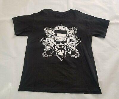 Breaking Bad Mens T-Shirt Black Walter White Sunglasses (Heisenberg Sunglasses)